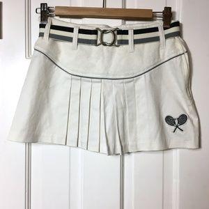 Authentic vintage 70s tennis mini skirt sz 2